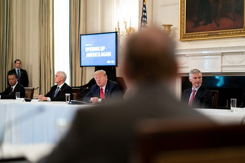 President Trump Meets with Industry Exec by The White House, on Flickr