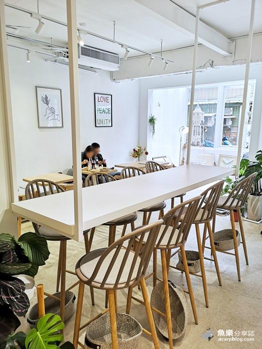 【台北大安】become早午餐|白色玻璃屋 最新網美打卡景點 @魚樂分享誌