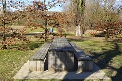 Picnic table @ Promenade de l'Aire