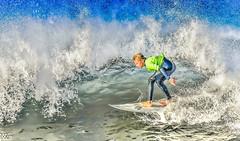 high school  NSSA Surf contest. Oceanside CA