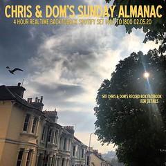 diary #2580: Sunday Almanac: Realtime Spotify Set, May 2nd, 2020