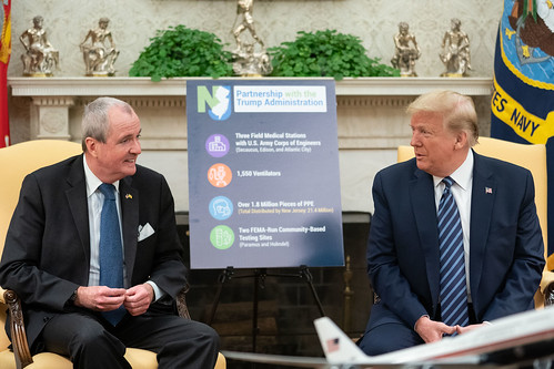 President Trump Meets with the Governor by The White House, on Flickr