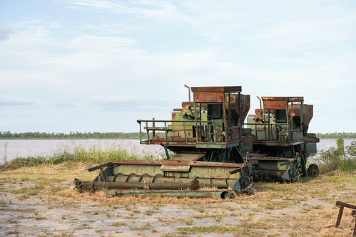 Abandoned agricultural machines