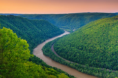 River valley @ West Virginia