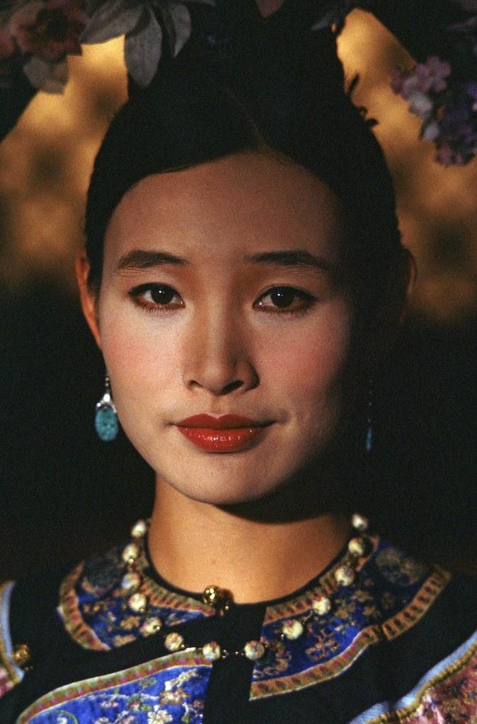 《末代皇帝》陳沖飾演皇后婉容 (1)