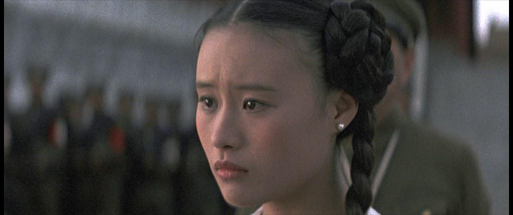 《末代皇帝》鄔君梅飾演淑妃文繡 (1)