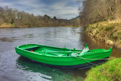 Photo of Boat on the Spey