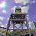 Kraan Leuvehaven Rotterdam 3D Rokinon 8mm