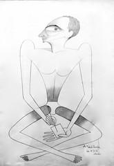 Self-Portrait (1938) - José de Almada Negreiros (1893-1970)