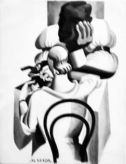 Untitled [Manicure] (c.1928-1930) - José de Almada Negreiros (1893-1970)