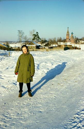 Virginia Neubert in the Soviet Union, early 1950s ©  Michael Neubert