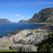 20190620_06 Ocean & mountains near Rørvikstranda, Lofoten, Norway