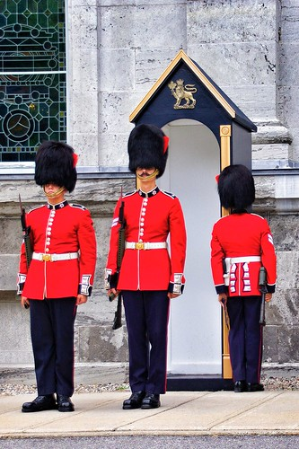 Ottawa Ontario Canada ~ Changing of The Guard ~ Rideau Hall