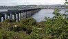 Tay Bridge from Wormit, 1985