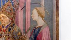 Veneziano, Saint Lucy Altarpiece, detail