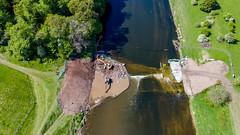 Red Scar Weir Demolition
