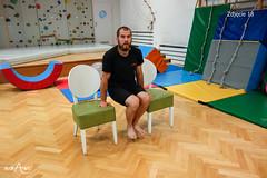 Podpór na krzesłach