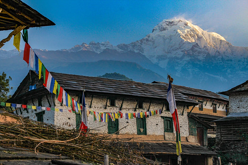 Village in the Annapurna's