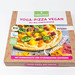 Followfood Yoga Pizza Vegan with organic spelt dough, hummus sauce and Ayurvedic spices: packaging on a white background
