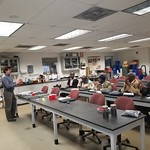 Fellows in session at the NC State Animal and Poultry Waste Management Center Processing Facility