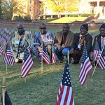 Fellows on NC State's campus during Veteran's Day