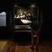 At the painting of Rembrandt. The Hague, Holland