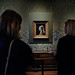 At the painting of Vermeer. The Hague, Holland