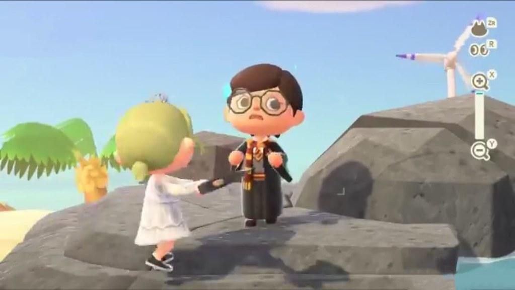 《玩命Online:雙槍對決》結合《動森》創意,地獄新娘大砍小巫師哈利