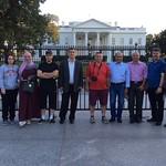 Fellows enjoying Washington, DC