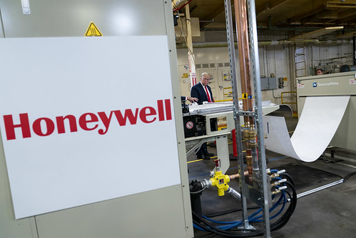 President Trump Visits Honeywell Interna by The White House, on Flickr