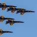 Blue Angels over DFW