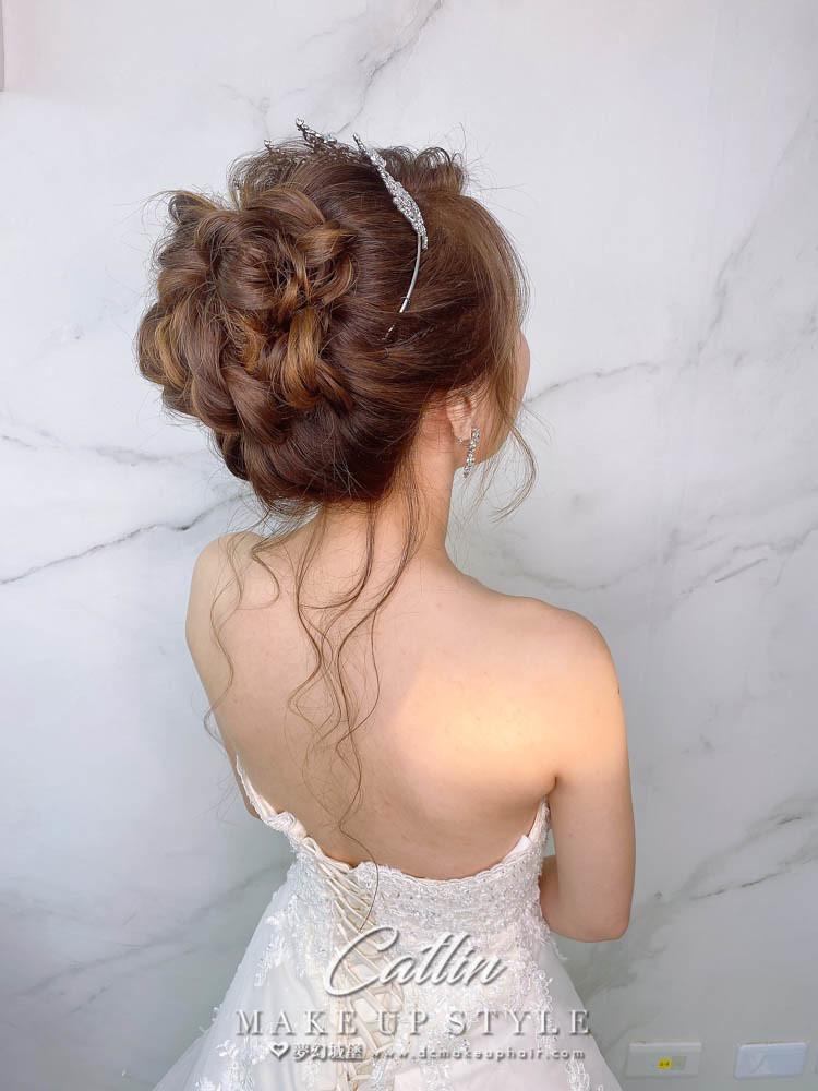 【新秘Catlin】新娘造型創作 / 甜美小公主造型