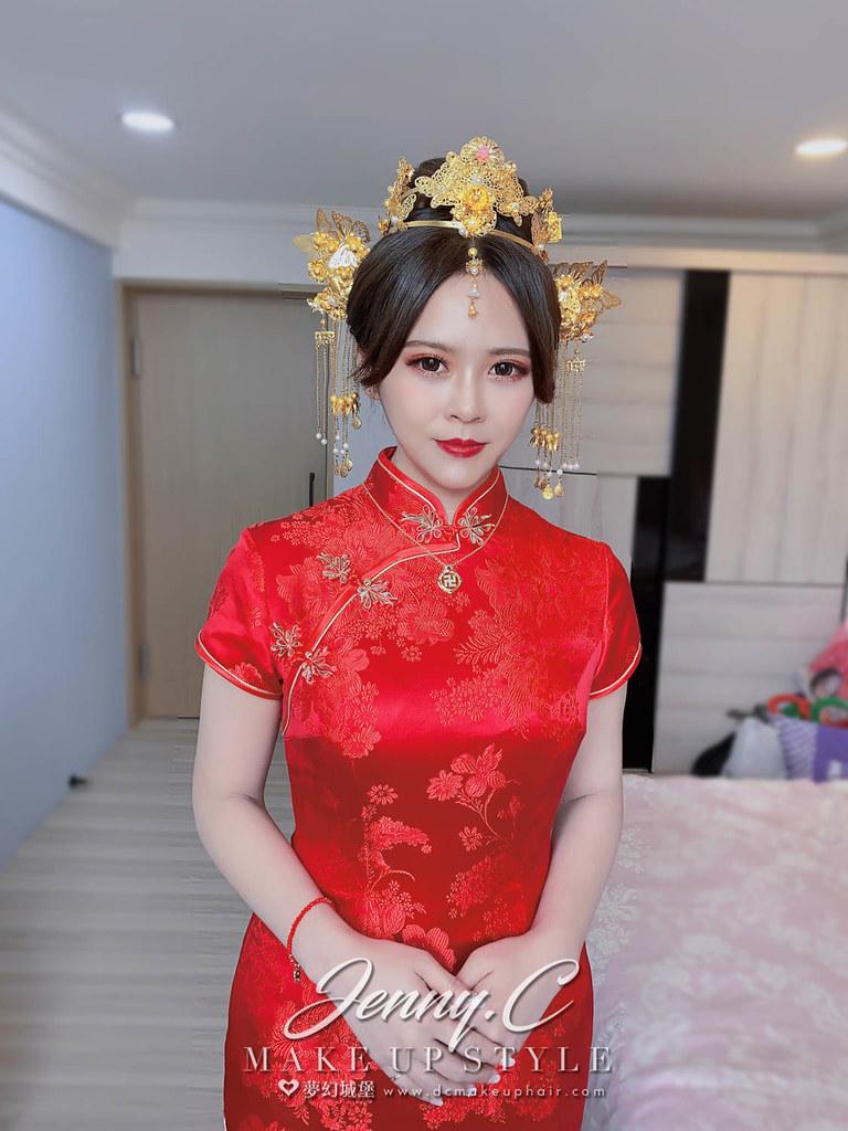 【新秘蓁妮】bride Patty 訂結造型 / 中式造型,韓式浪漫