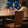 Ana Pastor en la reunión preparatoria previa a la constitución de la Comisión para la Reconstrucción Social y Económica. (07/05/2020)