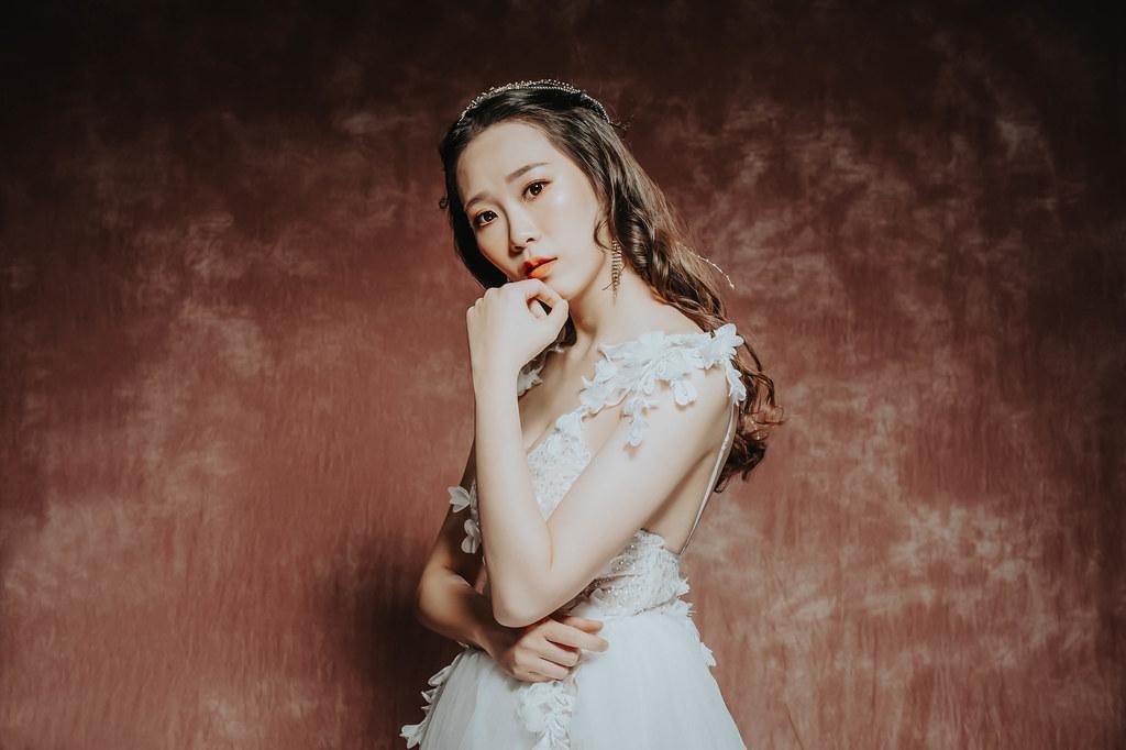 【新秘羽寧】新娘造型創作 / 仙女唯美女神風