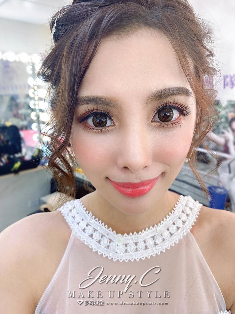 【新秘蓁妮】新娘造型創作 / 乾燥花盤髮