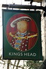 Pub sign for Kings Head, Great  Missenden.