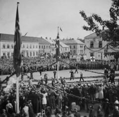 Kong Haakon besøker Trondheim (1945)