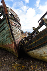 Photo of Derelict Boats at Salen