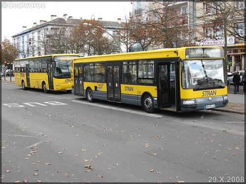 Renault Agora S – STRAN (Société des TRansports de l'Agglomération Nazairienne) n°407