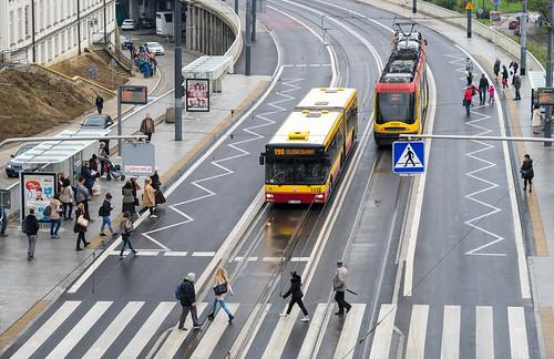 Warsaw city bus: MAN NG313 # 3332
