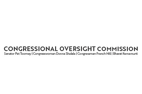 Congressional Oversight Commission Issues Statement Regarding Report