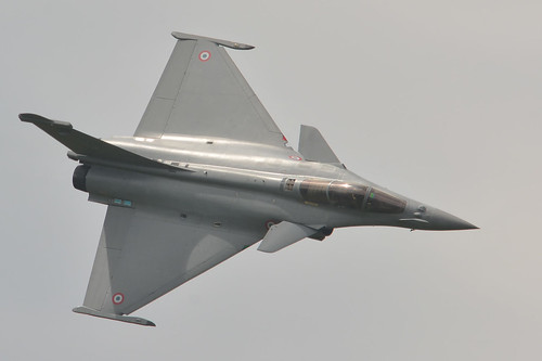 French Rafale at Florennes Air Show 2016