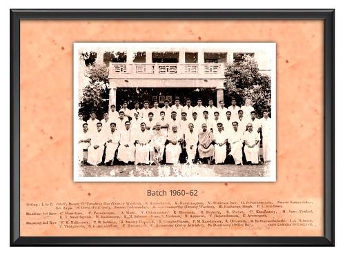 Batch-1960-62 - IARD, Coimbatore