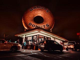 Randy´s Donuts. Los Angeles