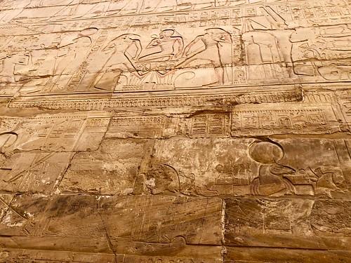 Égypte, Karnak (ancienne cité de Thèbes), Temple d'Amon