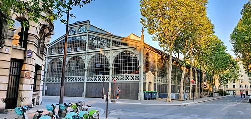 169 - Paris en Avril 2020 - rue Perrée le Carreau du Temple