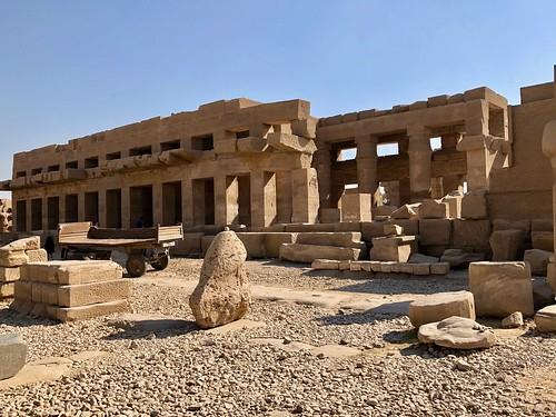 Égypte, Karnak (ancienne cité de Thèbes), Akh-Menou ou temple des millions d'années de Thputmôsis III