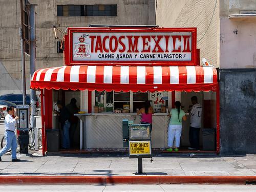 tacos mexico. los angeles, ca. 2005.