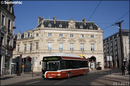 Irisbus Agora S GNV – Setram (Société d'Économie Mixte des TRansports en commun de l'Agglomération Mancelle) n°682